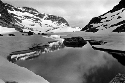 Glacial Lake - Central Norway